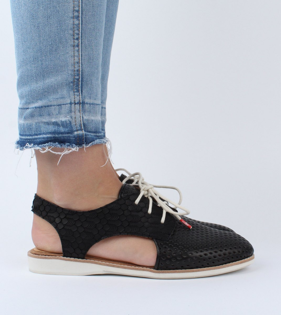 Rollie-Derby_Slingback_Punch-Black_Geo_Black-M2